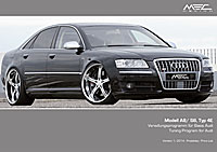 MEC Design with Audi S8 Price Lists