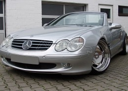 R230 SL Roadster Mercedes Tuning AMG Bodykit Wheels Exhaust Spacer Carbon