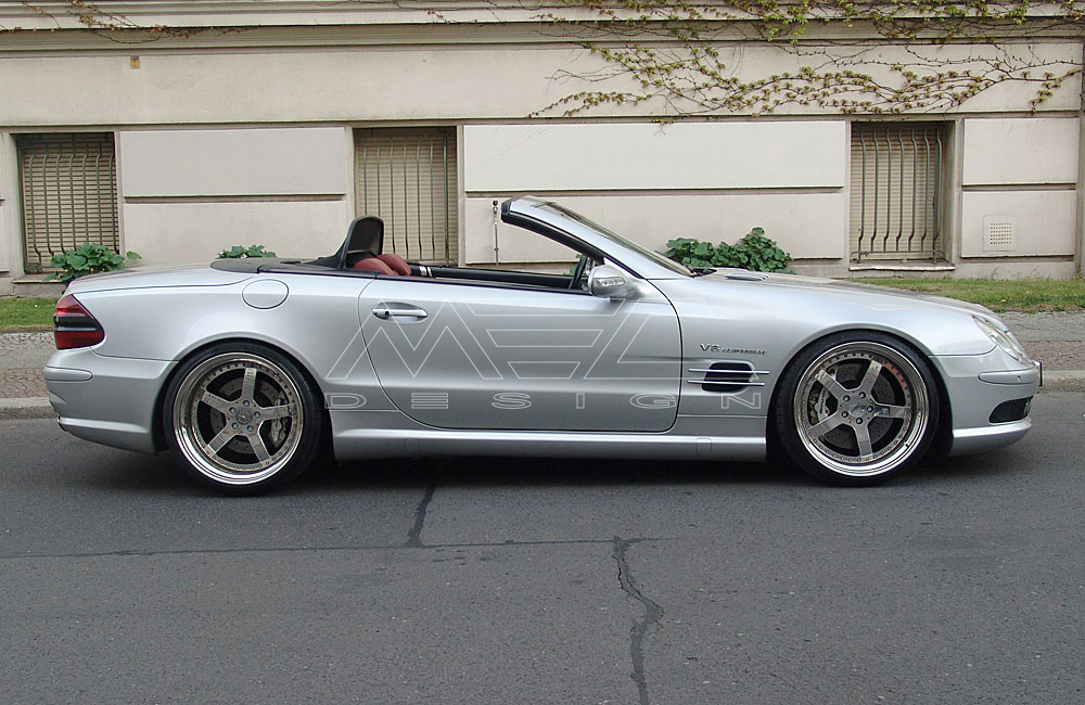 Sl55 Amg With Mecxtreme2 3 Piece Wheels Mec Design