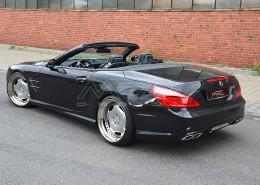 R231 SL Roadster Mercedes Tuning AMG Bodykit Felgen Auspuff Spurverbreiterung Carbon
