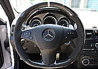 W204 C204 S204 C Class Mercedes Tuning AMG Interior Carbon Leather