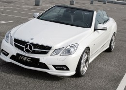E350CDI with mecxtremeIII 1pc. Wheel Satin White Edition and Exhaust
