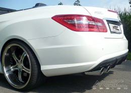 Rear Diffuser (pre-facelift). Only for vehicles with AMG Rear Bumper/AMG Styling package (Original insert will be swapped against our Diffusor).
