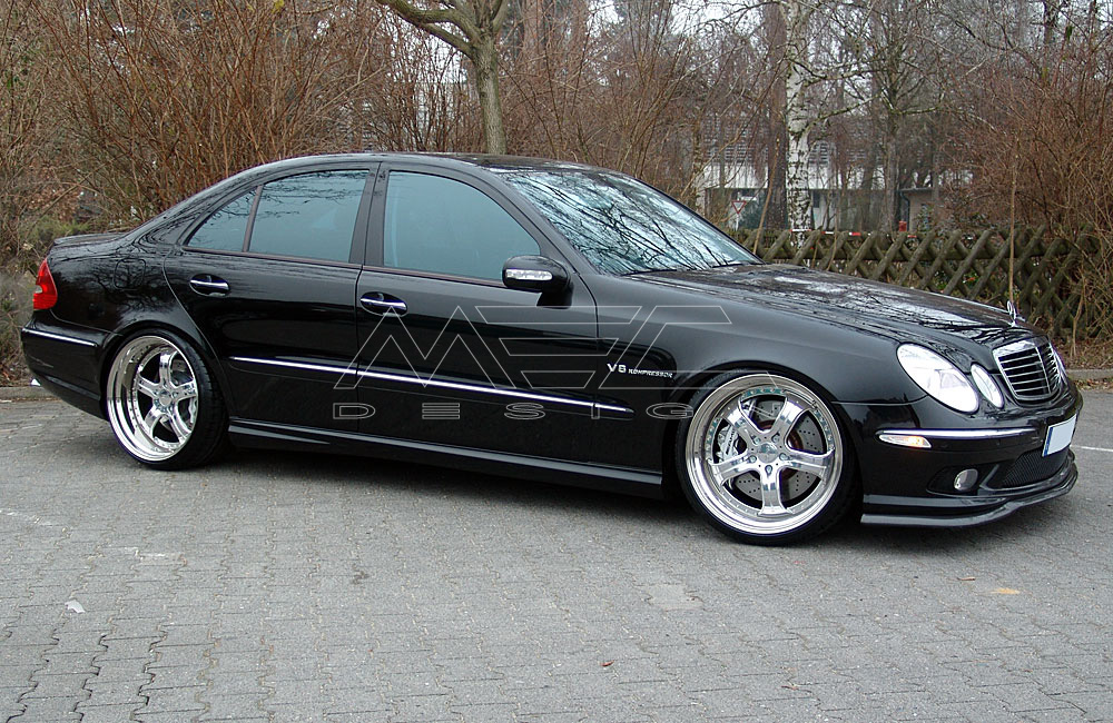 e55 amg with mecxtreme3 3 piece wheels mec design. Black Bedroom Furniture Sets. Home Design Ideas