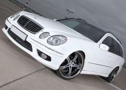 W211 S211 E-Klasse Mercedes Tuning AMG Bodykit Felgen Auspuff Spurverbreiterung Carbon