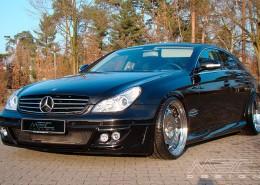 W219 CLS Tuning AMG Bodykit Felgen Auspuff Spurverbreiterung Carbon