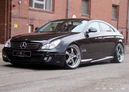 Black CLS with bodykit and mecxtremeIII 9,5 + 11 x 20
