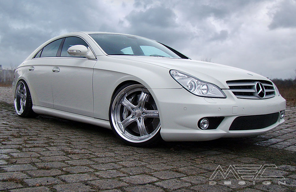 Cls55 Amg With Mecxtreme3 3 Piece Wheels Mec Design