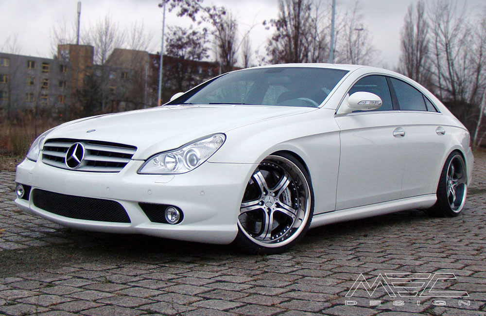 Cls55 Amg With Mecxtreme3 1 Piece Wheels Mec Design