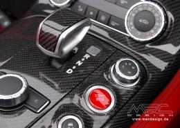 SLS C197 Mercedes Tuning AMG Interior Carbon Leather