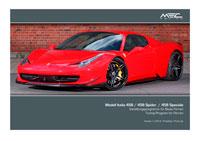 Ferrari 458 Preisliste