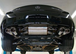 SLS C197 Mercedes Tuning AMG Bodykit Felgen Auspuff Spurverbreiterung Carbon