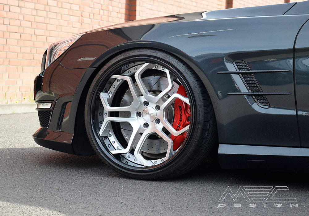 Sl63 With Cc5 Wheels Mec Design