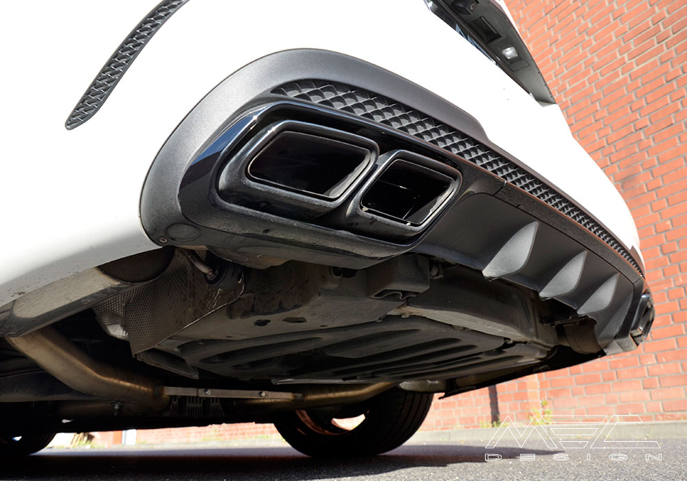 Amg Mec Design Sports Rear Muffler: Mercedes E350 Exhaust System At Woreks.co