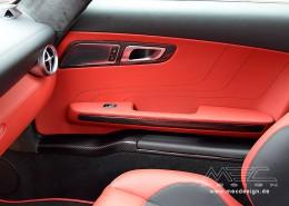 SLS R197 Mercedes Tuning AMG Interior Carbon Leder