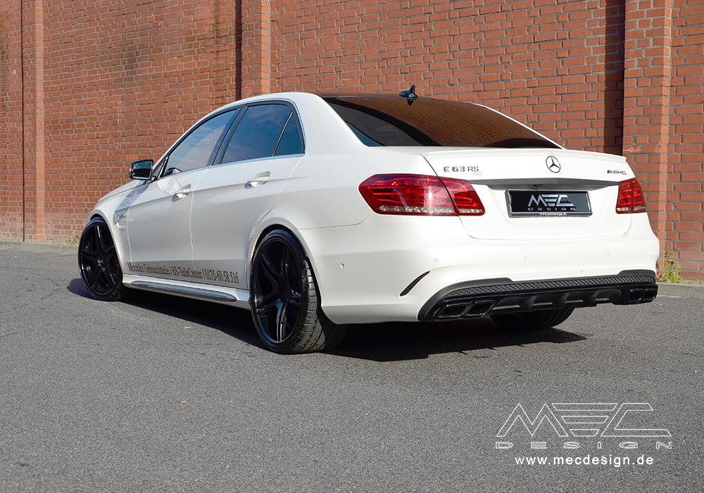 W212 E63 Amg Exhaust From Mec Design: Mercedes E350 Exhaust System At Woreks.co