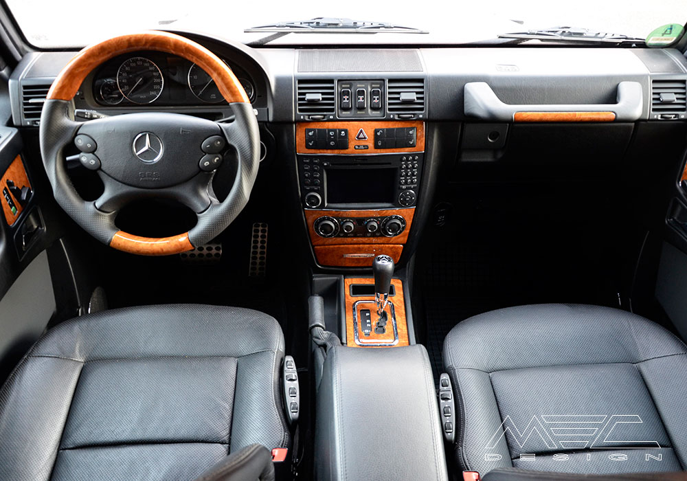 Noble Interior For Your Mercedes Benz W463