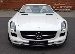 SLS R197 Mercedes Tuning AMG Bodykit Wheels Exhaust Spacer Carbon