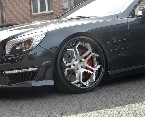 SL63 with CC5 Wheels