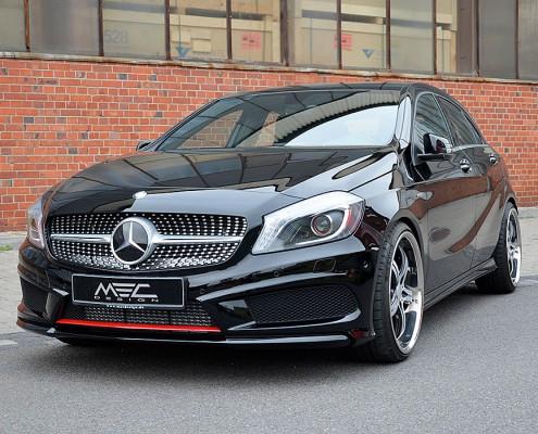 W176 A-Klasse Mercedes Tuning AMG Bodykit Felgen Auspuff Spurverbreiterung Carbon