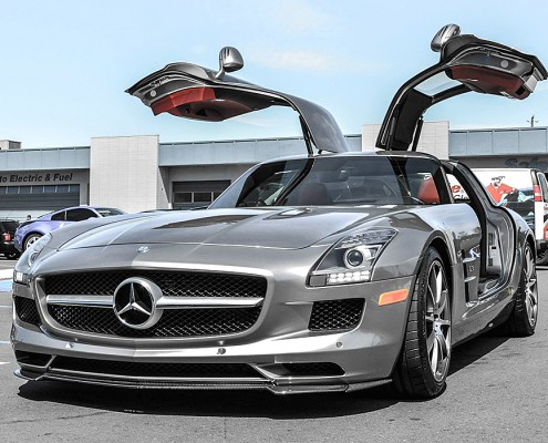 mec designs brutale sto stange f r ihren sls c197 amg. Black Bedroom Furniture Sets. Home Design Ideas