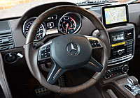 W463 G-Klasse Mercedes Tuning AMG Interieur Carbon Leder