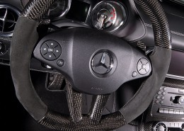 SLS C197 Mercedes Tuning AMG Interior Carbon Leather
