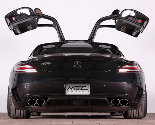 SLS R197 Mercedes Tuning AMG Bodykit Wheels Exhaust Spacer Carbon