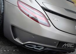 SLS R197 Mercedes Tuning AMG Interior Carbon Leather