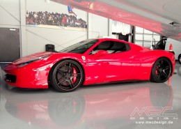 Customer from Orlando - USA with Ferrari 458 and CCd5 wheels