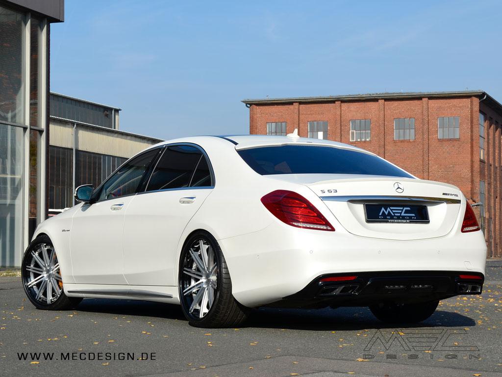 W222 V222 X222 Maybach S-Klasse Mercedes Tuning AMG Bodykit Felgen Auspuff Spurverbreiterung Carbon