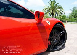Customer from Orlando - USA with Ferrari 458 and meCCon CCd5 wheels
