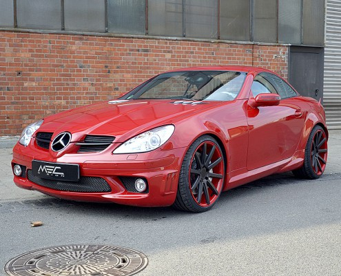 SLK55 AMG with MEC Design Nobilis