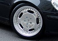 R170 SLK Roadster Mercedes Tuning AMG Bodykit Felgen Auspuff Spurverbreiterung Carbon