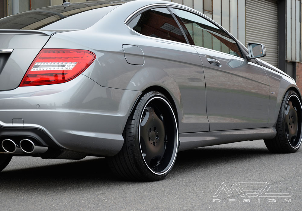 C250 With Mecxtreme1 1 Piece Wheels Mec Design
