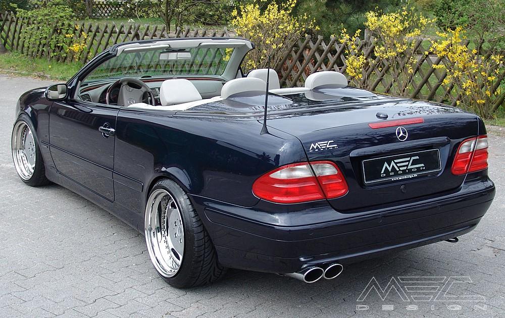 Mercedes CLK 200 230 Coupe C208 Cabriolet A208 Mittelschalldämpfer