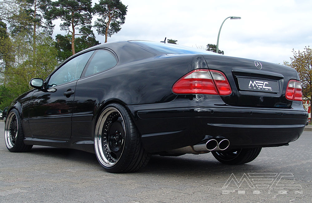 W208 Clk Klasse Auspuffanlagen on mercedes clk430 black