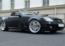 R170 SLK Roadster Mercedes Tuning AMG Bodykit Wheels Exhaust Spacer Carbon