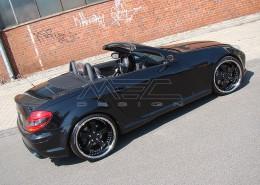 R171 SLK Roadster Mercedes Tuning AMG Bodykit Felgen Auspuff Spurverbreiterung Carbon