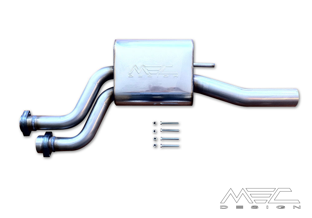 Powerful Exhaust Systems for your Mercedes Benz W124