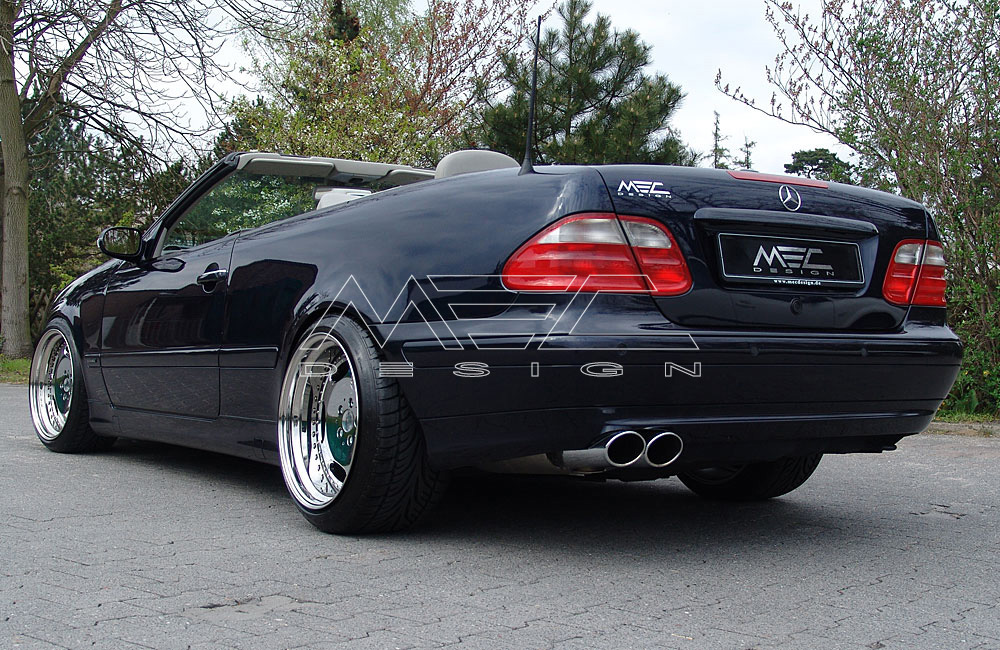 CLK320 with mecxtreme1 3 piece wheels - MEC Design