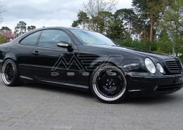 W208 A208 CLK Mercedes Tuning AMG Bodykit Felgen Auspuff Spurverbreiterung Carbon