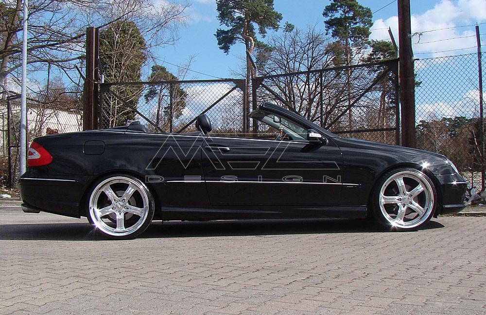 Spurverbreiterung Mercedes W