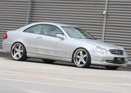 W209 A209 CLK Mercedes Tuning AMG Bodykit Felgen Auspuff Spurverbreiterung Carbon
