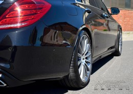 W222 V222 X222 Maybach S Class Mercedes Tuning AMG Bodykit Wheels Exhaust Spacer Carbonof S320CDI-S500 with 20 inch rims