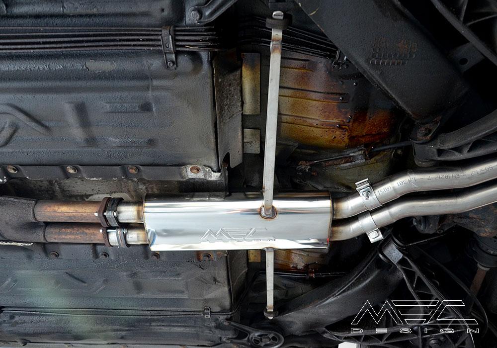 MEC Design Sport Exhaust System für W126 380 + 420 + 500 + 560 SE/SEL/SEC