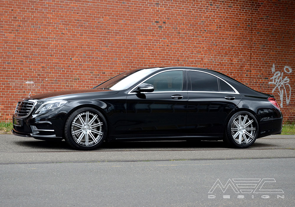 W222 S Class With Ccd10 Wheels Mec Design