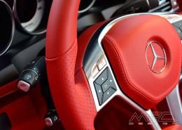 C207 A207 Mercedes Tuning AMG Interieur Carbon Leder