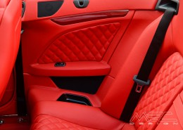 C207 A207 Mercedes Tuning AMG Interior Carbon Leather