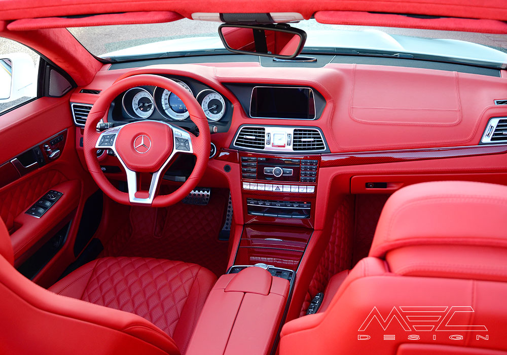 Range Rover 2015 >> Cerberus W207 E-Class with red leather interior - MEC Design
